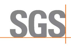 The Certificate of SGS